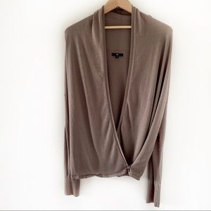 GAP Open Top Cardigan w/Criss Cross Bottom Closure